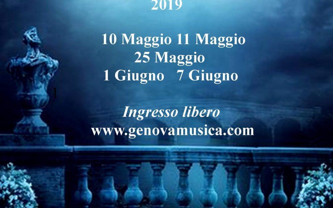 Genova Musica Concert Series 2019