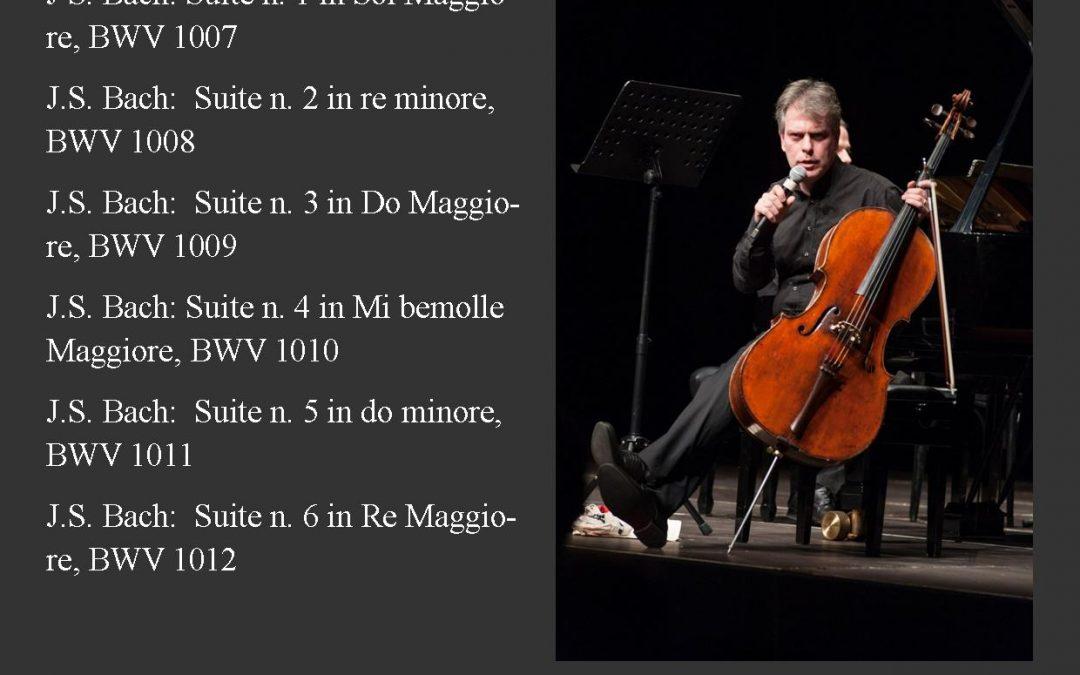 Luca Franzetti suona e racconta le sei Suites di Bach