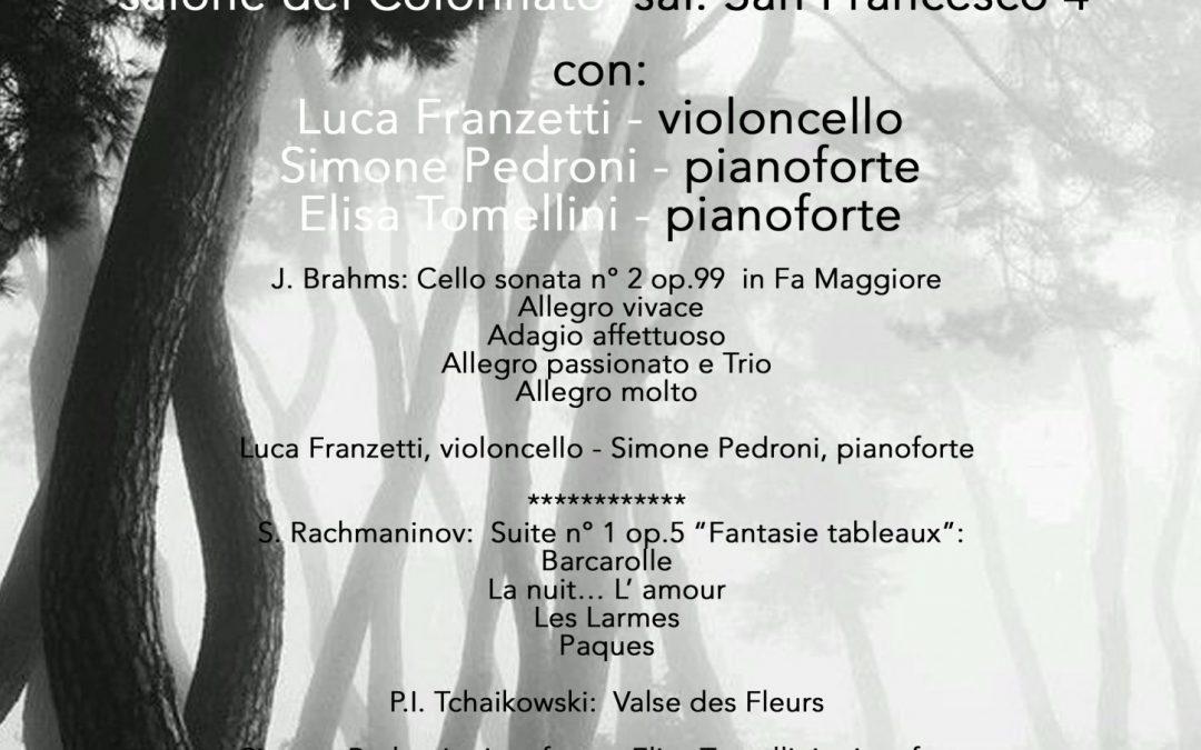 Concerto inaugurale 10 maggio Genova