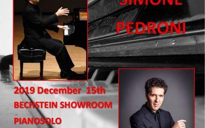 Piano Master Class, Simone Pedroni
